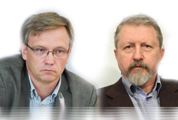 Zigmas Vaišvila ir Audrius Butkevičius